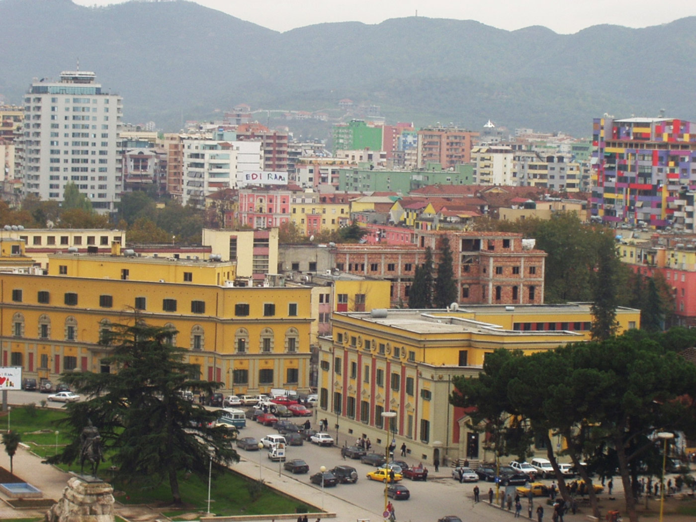 Tirana Albania  city images : tirana has been the capital of albania since 1920 it is relatively new ...